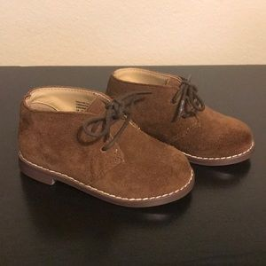 Janie and Jack Brown Suede Chukka Boot